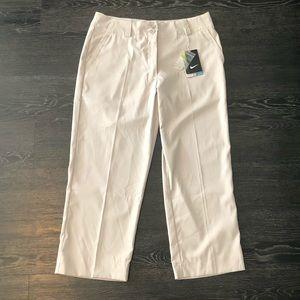 Nike Golf Light Khaki Cropped Pants